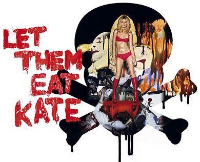 """Bu koleksiyon için Kate Moss'u seçen Agent Provocateur, Marie-Antoinette'in tarihe geçen """"Let them eat cake (Bırakın pasta yesinler)"""" sözüne gönderme yapan """"Let them eat Kate"""" sloganıyla yine kendinden söz ettirecek."""